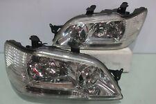 JDM Mitsubishi Lancer Cedia Clear Headlights 2001-2003 CS2A CS5W OEM Stanley OEM