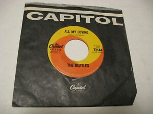 ## The Beatles/ All My Loving b/w This Boy/ Capitol/ 1964/ Canada/ 1st Press