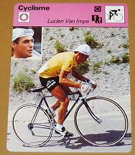 CYCLISME CICLISMO LUCIEN VAN IMPE BELGIQUE BELGIË TOUR FRANCE 1976