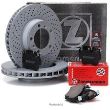 ZIMMERMANN Bremsscheiben + Beläge für MERCEDES W176 W246 W242 C117 X117 vorne