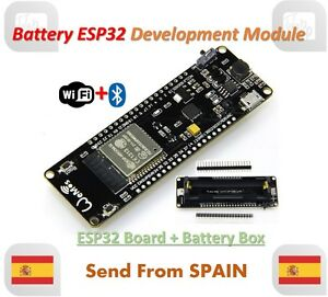 Wemos Battery ESP32 ESP-32 ESP32S Wifi + Bluetooth Development Board