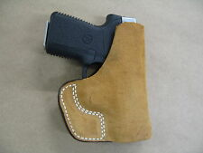 Remington RM380 .380 Inside the Pocket Leather Concealment Holster CCW ITP