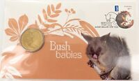 .2013 $1 PNC BUSH BABIES, BRUSH-TAILED POSSUM COIN PACK. MINT UNOPENED.