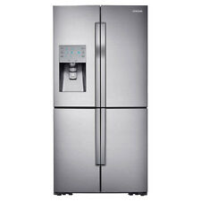 Samsung - ShowCase 28 Cu. Ft. 4-Door Flex French Door Refrigerator - Stainless