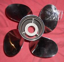 4 Blade Turbo Hot Shot Stainless Steel Propeller 11 1/4 x 9 CH-11209-R4 (83-16)