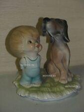 +# A012482_06 Goebel Archiv Best Friends Junge mit Hund Dog Bluthund 10-924