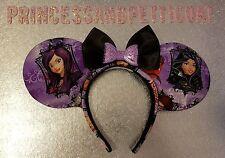 Handmade minnie mickey mouse ears ~ Disney Decendants Inspired