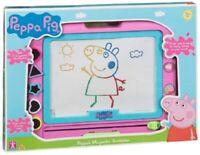 Peppa Pig de Magnético Pizarra Mágica Infantil Dibujar Playset Juguete Pluma & 5