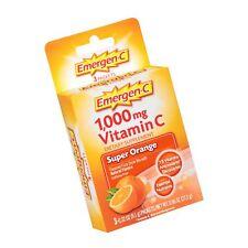 Emergen-C (3 Count, Super Orange Flavor) Dietary Supplement Fizzy Drink Mix w...