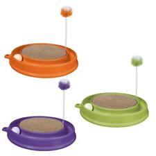 Spielkreis Play-n-Scratch Kratzspielzeug + Minze, runde Kratzmatte Ball