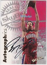 1997-98 SKYBOX AUTOGRAPHICS AUTO: DON MacLEAN -AUTOGRAPH SIXERS MOST IMPROVED 94