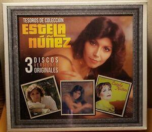 ESTELA NUNEZ - TESOROS DE COLECCION (2018 BRAND NEW 3 CD BOX SET)