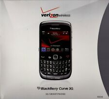 Blackberry Curve 3G 2GB w/battery & Charger in box