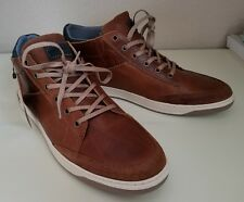 Bull Boxer Laytone Men's US 11 Tan Fashion Sneakers Shoes Hand Made/Portugal NWT