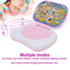 Educational Computer Toy Baby Kids Laptop Tablet Learning Playing Toy Gift