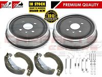 FOR VAUXHALL ASTRA G 1.4 1.6 1.7 98-04 REAR BRAKE SHOES DRUMS & FITTING KIT