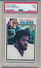 1979 Topps Football Earl Campbell (HOF) (Rookie Card) (#390) PSA7 PSA
