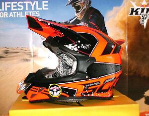 SCORPION EVO VX-20 Quartz Pumpsystem MX Enduro Helm Honda KTM Neon Rot NEU Airoh