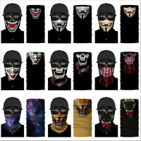 Balaclava Scarf Neck Gaiter Bandana Face Mask Cover for Motorcycle Bike Rider