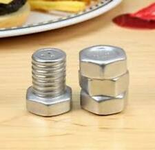 Nut & Bolt Salt And Pepper Shaker Set