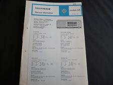 Original Service Manual  Telefunken Jubilate 305