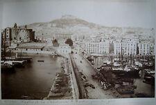 PHOTO ORIGINALE NAPLES 19ème siècle.Chartreuse San Martino. Napoli.