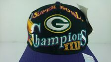NEW Vintage Green Bay Packers 1996 Vintage Super Bowl Snapback Hat Logo Athletic
