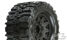 "PRO-LINE TRENCHER HP Belted 2.8"" PreMounted Truck Tires (M2) (2) BLACK 10168-10"
