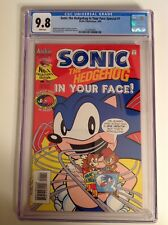 CGC 9.8 Sonic the Hedgehog In Your Face Special #1 Sega 1995 Archie