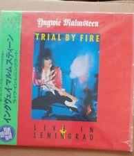 Laserdisc -Yngwie Malmsteen. Trial By Fire,  Live! Japan Import, OBI