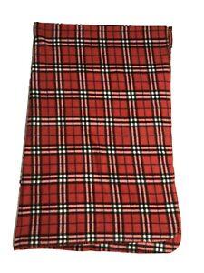 "Martha Stewart Everyday 100% Polyester Plaid Blanket/Tablecloth - 48""x 72"""
