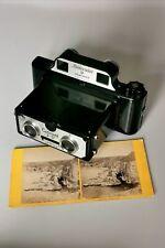 Coronet Stereo 3D Bakelite Camera
