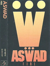 "Aswad ‎Fire CASSETTE SINGLE Roots Reggae Dub Dancehall inc 12"" mix MANGO U.S."