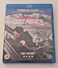 MISSION IMPOSSIBLE - 4 GHOST PROTOCOL Triple-Play BLU RAY  New - Sealed