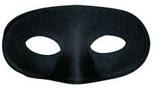 Schwarze Augenmaske für Kinder NEU - Karneval Fasching Maske Gesicht