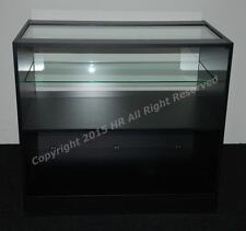 NEW BLACK MATT  Glass Shop counter  ,FREE DELIVERY, TOP QUALITY, 1200mm