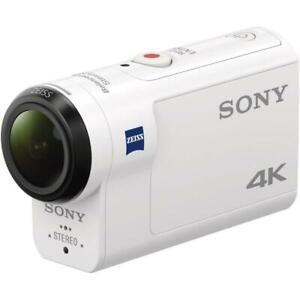 Sony FDR-X3000 Digital 4K Video Camera Recorder - White