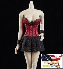 "1/6 Lingerie Sexy lace wear For 12"" PHICEN Hot Toys Female Figure kumik ❶USA❶"