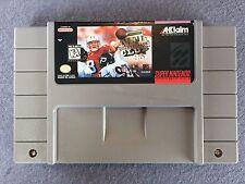 NFL Quaterback Club 96 Super  Nintendo SNES
