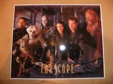 FARSCAPE CAST LARGE 8x10 ART CARD JIM HENSON PROMO NEW