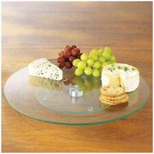 Fuentes y platos de vidrio para servir