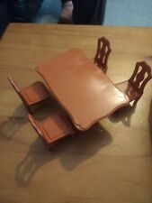 SYLVANIAN FAMILIES DINING TABLE & 4 CHAIRS FURNITUR ********COMBINE P&P*********