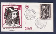 MONACO   enveloppe 1er jour  tableau  Durer     1972