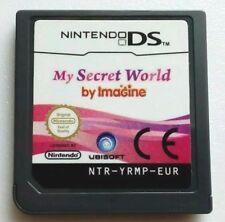 My Secret World by Imagine [Nintendo DS/Lite/DSi/XL Game] GENUINE