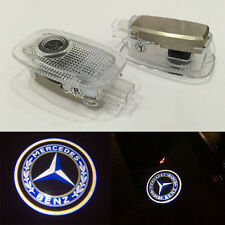 2x LED Door Step Welcome Laser Ghost Shadow Light for Mercedes-Benz S W221 W216