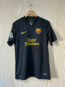 BARCELONA 2011 2012 AWAY FOOTBALL SHIRT JERSEY NIKE 419880-010 DANI ALVES # 2