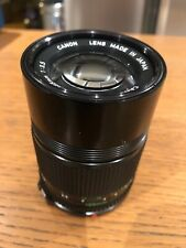 CANON 135mm F/3.5 FD MANUAL FOCUS LENS ** Ex++