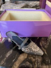 Just The Right Shoe by Raine, Shimmering Night Style #25038 Original Box Coa