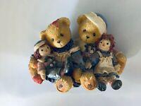 Cherished Teddies Rosemarie and Ronald Figurine #706981 A Hug Is Worth 1000 Word