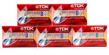 (100-Pack) TDK D60 Blank Audio Cassette Tape Superior Normal BIAS IEC I/TYPE I